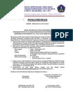 Pengumuman Hasil Uj Tulis Siipenmaru Progsus Analis Kes Tgl 19 Des 2012 _susulan_. Web