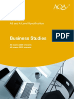 68674150 AQA Business Specification