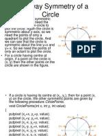 Circle Midpoint Algorithm_modified as Cartesian Coordinates