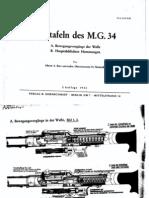 Bildtafeln des M.G. 34