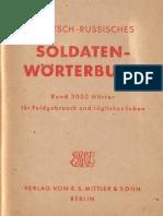 Deutsch-Russisches Soldatenwörterbuch (1942)