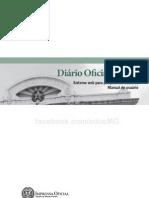 Manual para utilização do IOF(Diário Oficial do Estado de Minas Gerais)