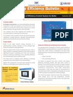 Bulletin 1 - Energy Efficiency Control System for Boiler