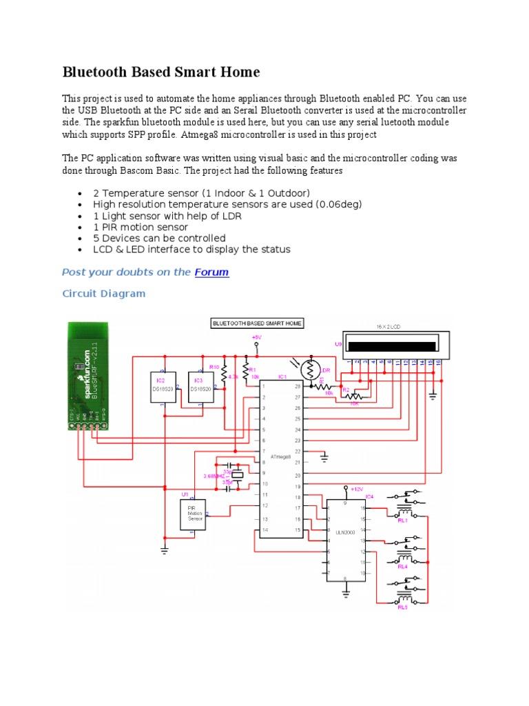 Mahmood Bluetooth Microcontroller Pirsensorinterfacecircuitdiagram