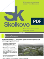 Skolkovo Investments
