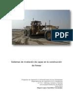 Sistemas de nivelación de capas en la construcción de firmes