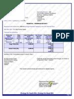 Lic Premium Receipt Pdf