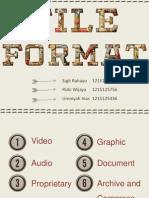 File Format Multimedia
