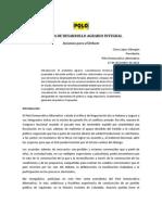 Foro de Desarrollo Agrario Integral con Enfoque Territorial - Ponencia del PDA