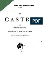 Castro, de António Ferreira