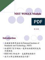 06 695430019 Nist Wimax Module