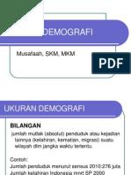 UKURAN DEMOGRAFI