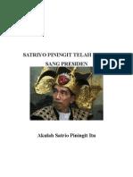 Satrio Piningit TELAH HADIR