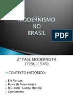 MODERNISMO NO BRASIL apresentação
