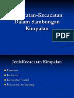 SPL 2012-Kecacatan Sambungan Kimpalan