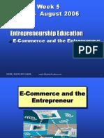 SPE3002 Entrerpeneurship - Education on Ecommerce w5[1]
