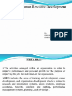Role of HRD