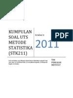 Kumpulan Soal Uts Metode Statistika Ipb