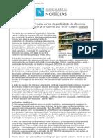 Pressão empresarial susta norma de publicidade de alimentos_Agência USP de Notícias