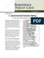 Ryan Young - EPA Regulatory Report Card
