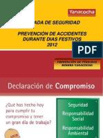 11. Parada de Seguridad - Noviembre 2012 - Seguridad en Dias Festivos