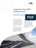 Automated XML Testing Approach for Pega PRPC, BPM and Rules Based Engines