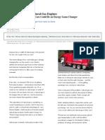 Natural Gas Cng Vehicles Article