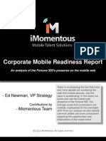 Corporate Mobile Readiness Report
