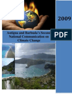 Antigua and Barbuda's Second National Communication on Climate Change, 2009