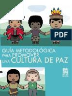 Guía para promover cultura de paz
