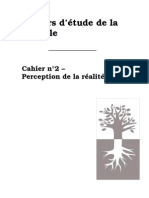 Cahiers D'étude de la Kabbale N°2- La perception de la réalité