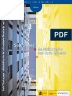 Guías técnicas para la rehabilitación de la envolvente térmica de los edificios nº 3