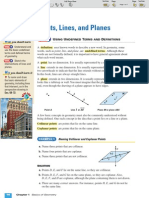 ML Geometry 1-2 Points Lines and Planes