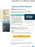 ML Geometry 1-3 Segments and Their Measures