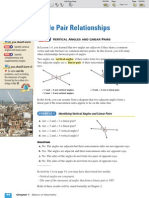 ML Geometry 1-6 Angle Pair Relationships