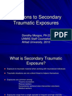 Reactions to Secondary Traumatic Exposures.ppt