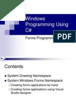 window programing