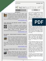 India Transport Portal Newsletter - November, 2012