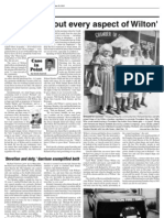 Derek Sawvell's column in the Dec. 20 edition of the Wilton-Durant Advocate News.