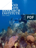 2012-2013 Programs of the Fish and Wildlife Research Institute