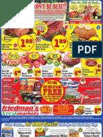 Friedman's Freshmarkets - Weekly Specials - December 20 - 26, 2012