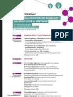 Valorisation Des Biomasses Programme