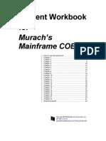 Student Workbook for Murach's Mainframe COBOL