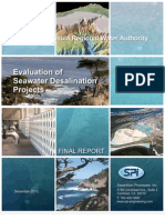 MPRWA Evaluation of Seawater Desalination Projects Final Report December 2012