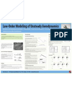 Low Order Modeling of Unsteady Aerod