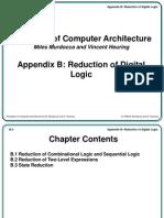Reduction of Digital Logic
