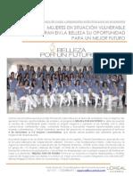 COMUNICADO BELLEZA POR UN FUTURO 2012