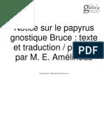 Papyrus Bruce