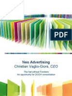 Neo Advertising - ISE DOOH Presentation