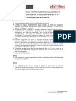 Requisitos Para La Contratacion de Personal Extranjero